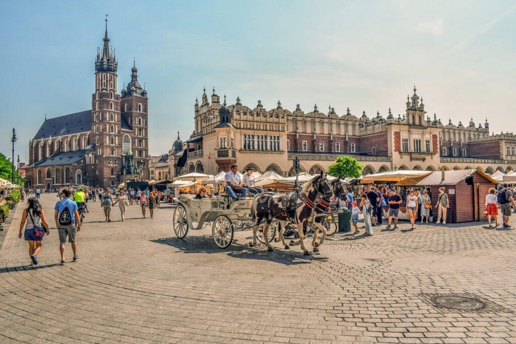 Torg i Krakow