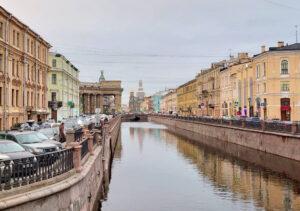 Канал в Санкт-Петербурге.
