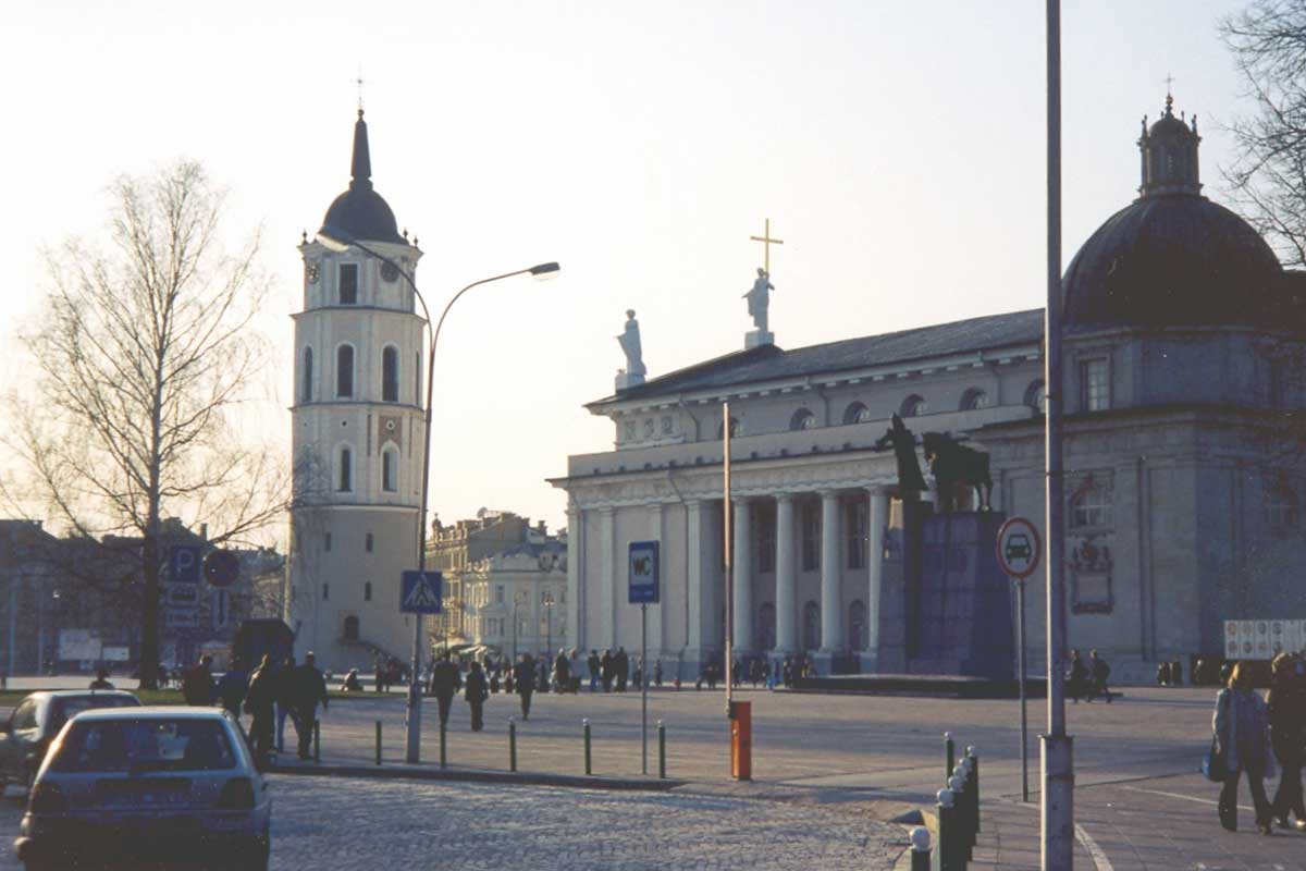 katedral och klocktorn