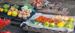 frukter på en marknad