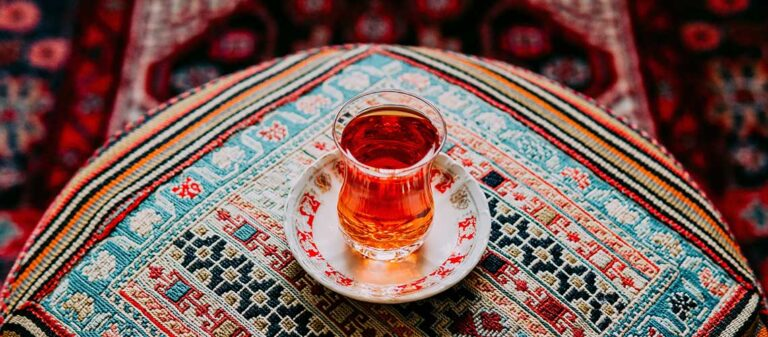 te i ett glas