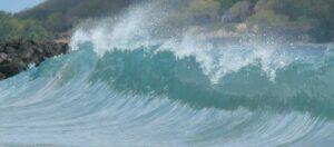 vågor på havet