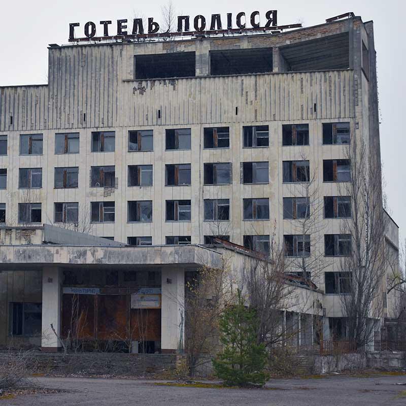 ruin av hotell