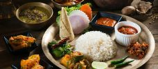 kokt ris med grönsaker